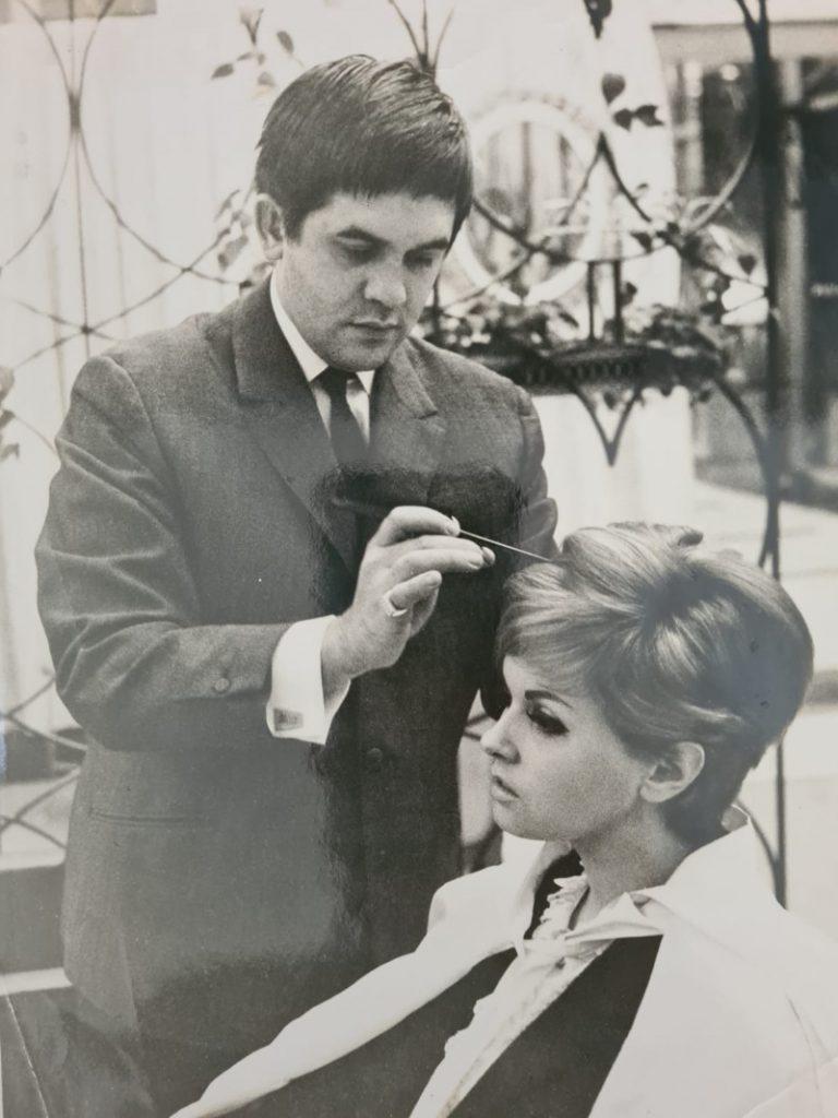 Jean-Pierre Frasez le coiffeur des stars
